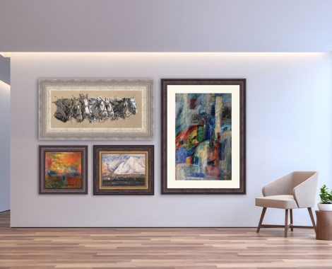 Custom Picture Framing And Art Reproduction Pintura Fine Art